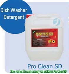 Dish Washer Detergent - PRO CLEAN SD